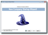 Company Startup Wizard